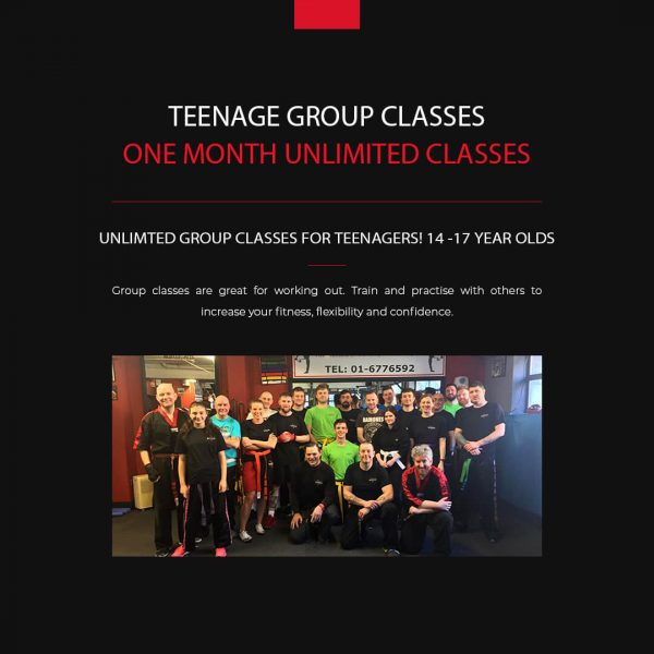 Kickboxing for teenagers